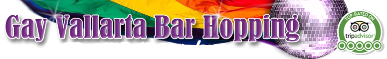 Gay Bar Hop Tour Puerto Vallarta Retina Logo